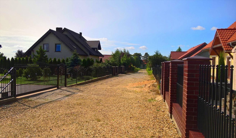 Działka budowlana na sprzedaż Brzezia Łąka, Ogrodowa  1002m2 Foto 6