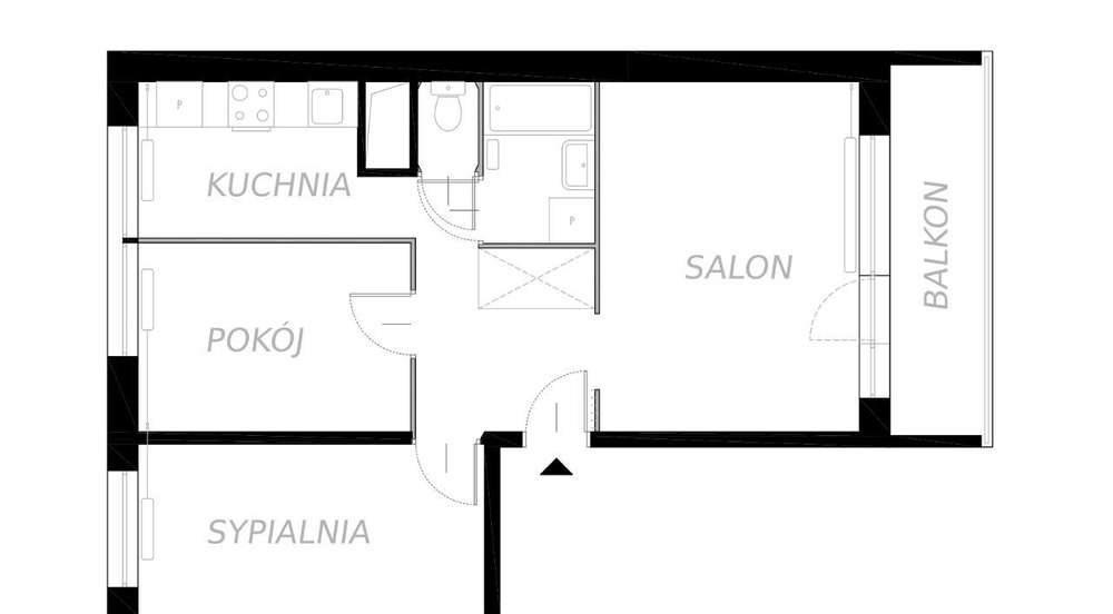 Mieszkanie trzypokojowe na sprzedaż Warszawa, Ursynów, Bacewiczówny  53m2 Foto 10
