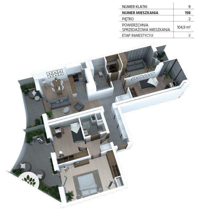 Mieszkanie na sprzedaż Bydgoszcz, Szwederowo, Piękna  105m2 Foto 8