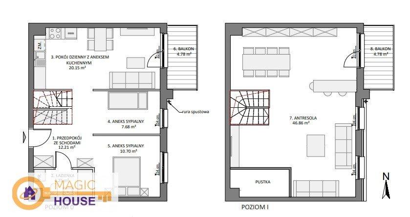 Mieszkanie czteropokojowe  na sprzedaż Gdańsk, Łostowice, Pastelowa  102m2 Foto 1