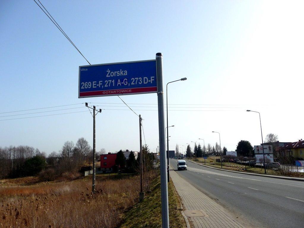 Działka inwestycyjna na sprzedaż Rybnik, Gotartowice, Żorska  5296m2 Foto 8