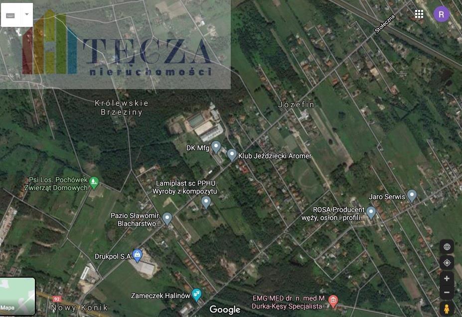 Działka inwestycyjna na sprzedaż Józefin, Stołeczna  4680m2 Foto 2