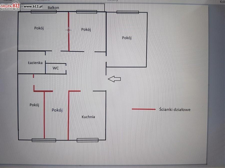 Mieszkanie na sprzedaż Krakow, Krowodrza, Krowoderskich Zuchów  64m2 Foto 10