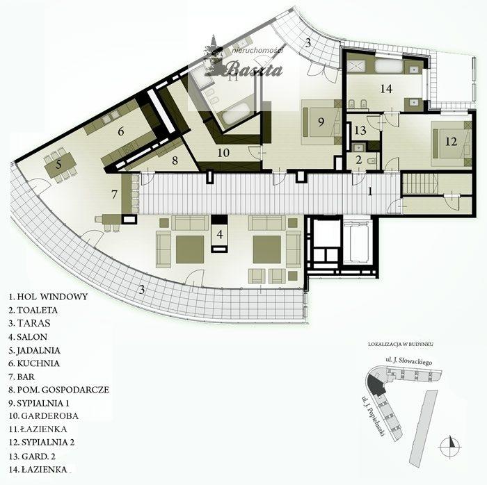 Mieszkanie czteropokojowe  na sprzedaż Warszawa, Żoliborz, Hanki Czaki  266m2 Foto 8