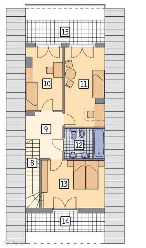 Dom na sprzedaż Daszewice  117m2 Foto 11