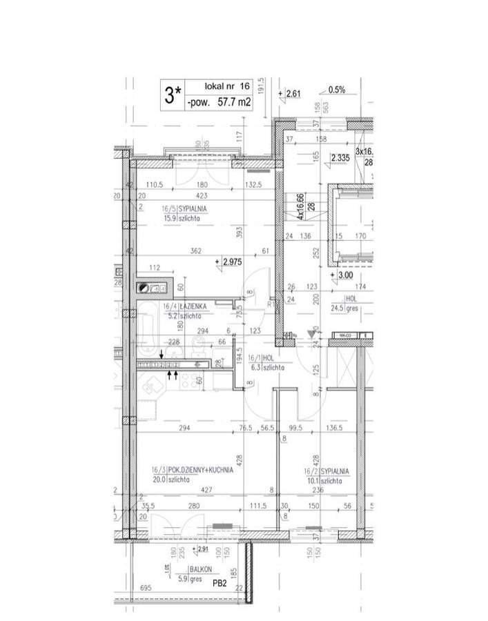 Mieszkanie trzypokojowe na sprzedaż Warszawa, Białołęka, Grodzisk, Skarbka z Gór 41  58m2 Foto 2