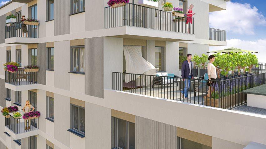 Mieszkanie trzypokojowe na sprzedaż Poznań, Grunwald, Jeleniogórska  74m2 Foto 2