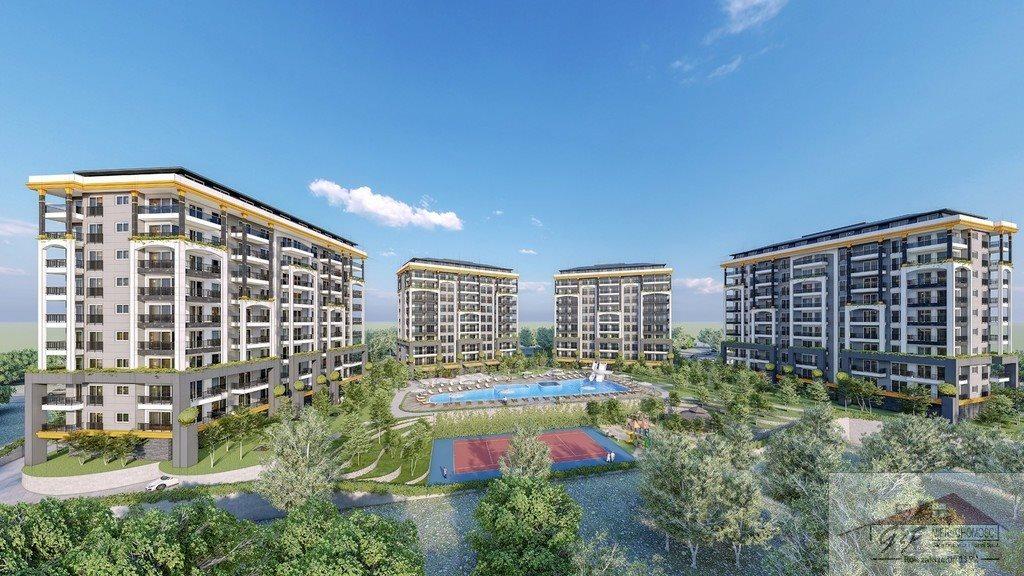 Mieszkanie dwupokojowe na sprzedaż Turcja, Alanya, Avsallar, Alanya, Avsallar  53m2 Foto 7