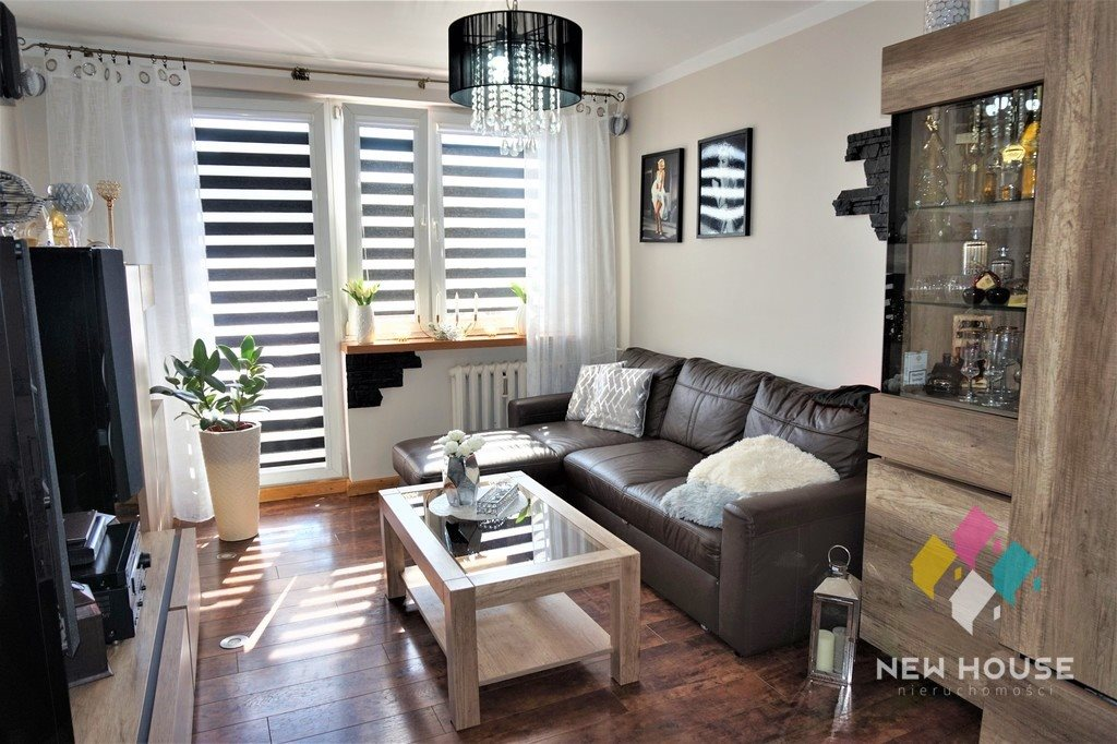 Mieszkanie trzypokojowe na sprzedaż Nidzica  47m2 Foto 1