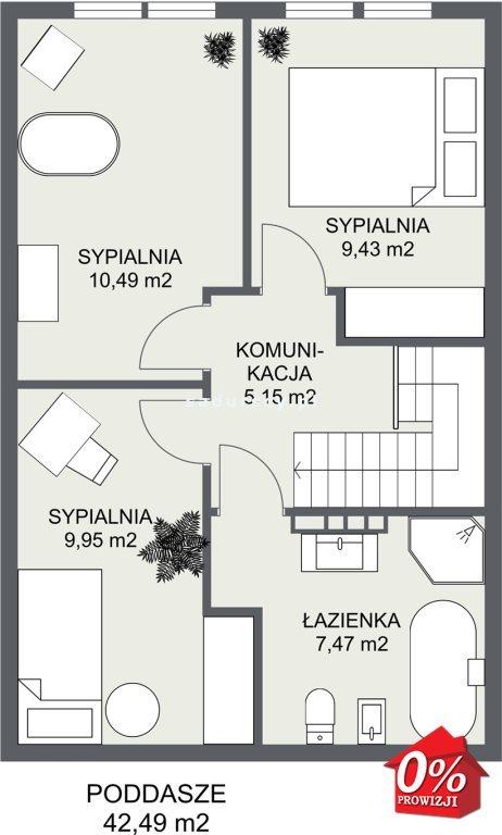 Dom na sprzedaż Wielka Wieś, Modlnica, Modlnica, Graniczna - okolice  86m2 Foto 5