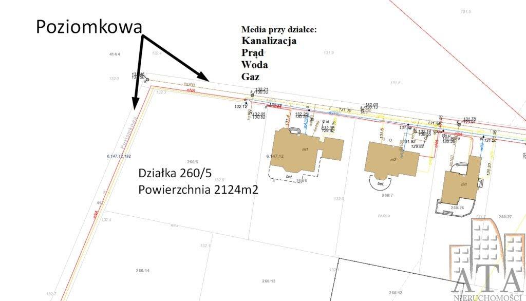 Działka budowlana na sprzedaż Żerniki Wrocławskie  2124m2 Foto 4