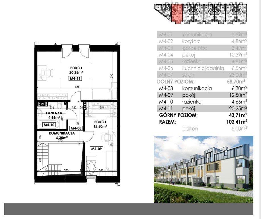 Mieszkanie czteropokojowe  na sprzedaż Rzeszów, Miejska  102m2 Foto 8