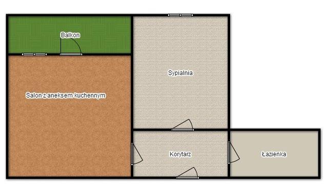 Mieszkanie dwupokojowe na wynajem Gliwice, Centrum, Dworcowa  58m2 Foto 7