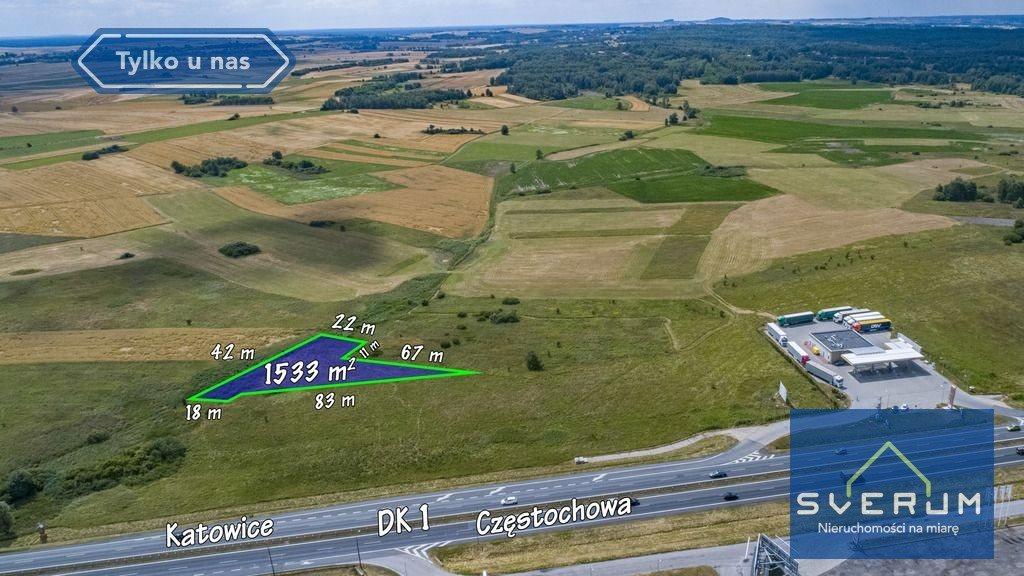 Działka inwestycyjna na sprzedaż Koziegłowy  1533m2 Foto 2