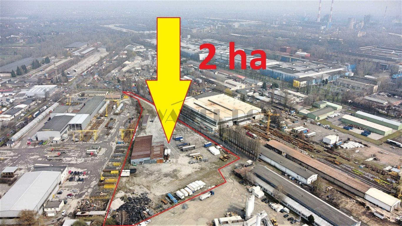 Działka przemysłowo-handlowa na sprzedaż Kraków, Nowa Huta  20000m2 Foto 1