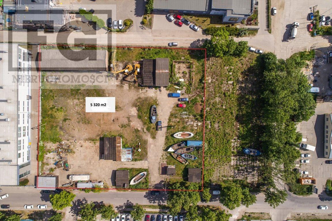 Działka przemysłowo-handlowa na sprzedaż Gdańsk, Letnica  5320m2 Foto 4