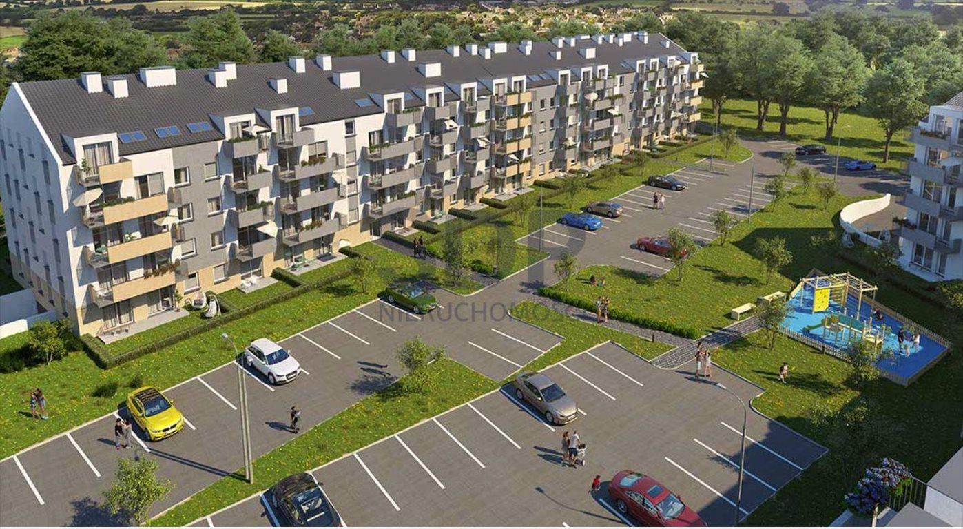Mieszkanie dwupokojowe na sprzedaż Wrocław, Krzyki, Jagodno, Buforowa  38m2 Foto 4