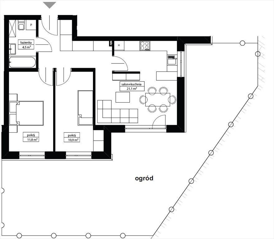 Mieszkanie trzypokojowe na sprzedaż Oleśnica, OLEŚNICA / WINDA / OGRÓD / PIWNICA  57m2 Foto 1