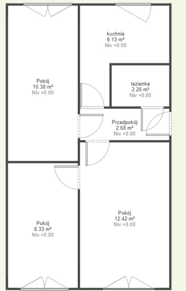 Mieszkanie trzypokojowe na sprzedaż Ustka, Darłowska 6B  46m2 Foto 8