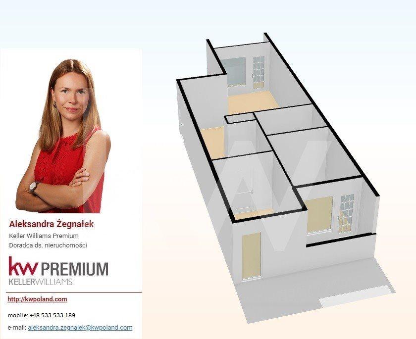 Mieszkanie trzypokojowe na sprzedaż Wrocław, Żerniki  68m2 Foto 1