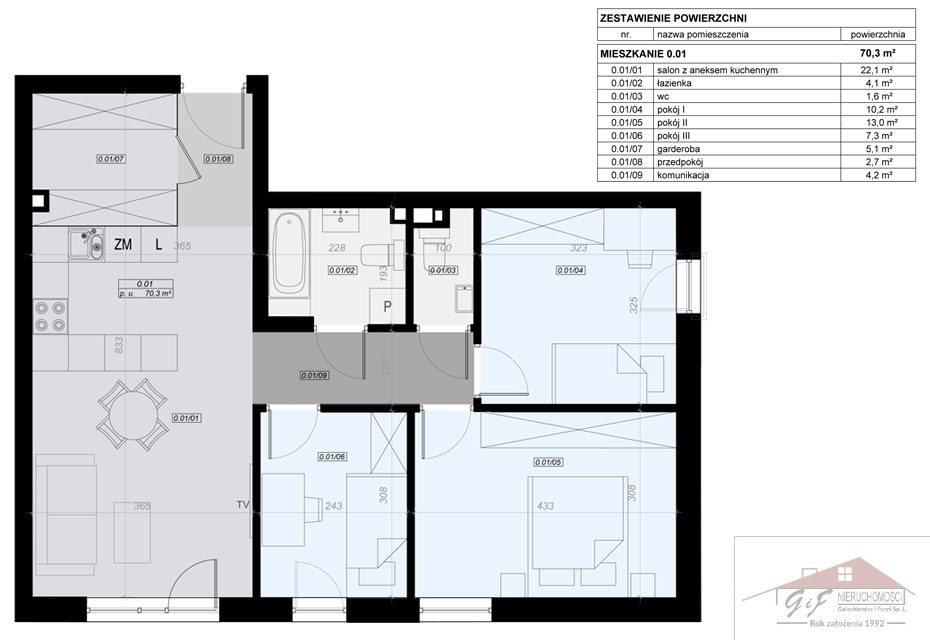 Mieszkanie czteropokojowe  na sprzedaż Przemyśl, Tatarska  70m2 Foto 4