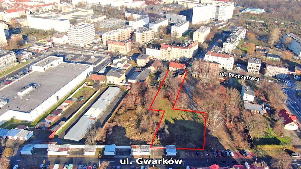 Działka inwestycyjna na sprzedaż Gliwice, Centrum, Pszczyńska  3382m2 Foto 4