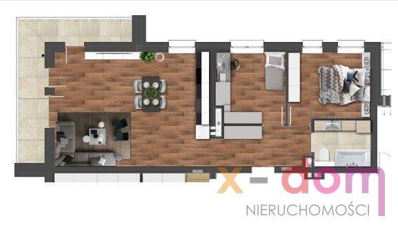 Mieszkanie trzypokojowe na sprzedaż Kielce, Stefana Okrzei  70m2 Foto 7