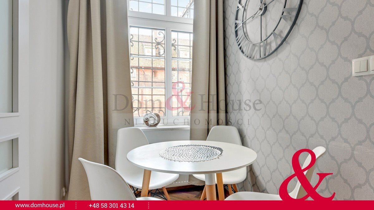Mieszkanie dwupokojowe na wynajem Gdańsk, Śródmieście, Ogarna  27m2 Foto 5