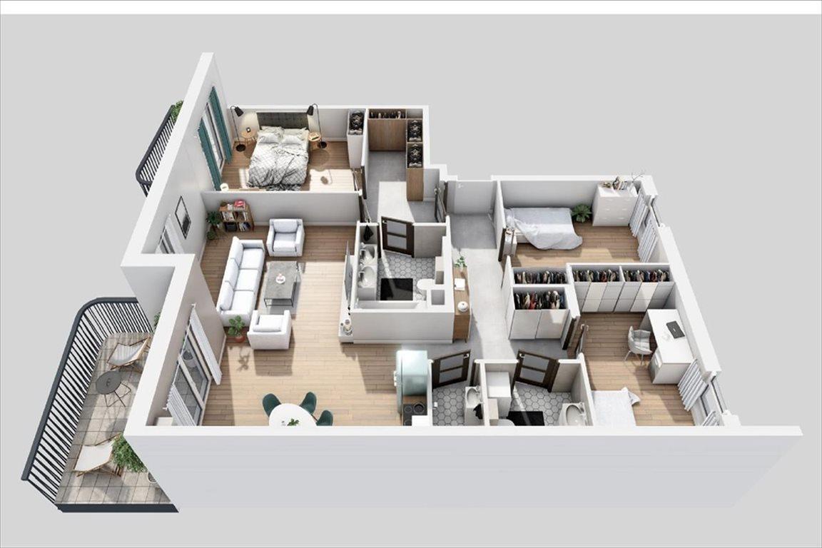 Mieszkanie czteropokojowe  na sprzedaż Warszawa, Bemowo, Batalionów Chłopskich  110m2 Foto 4