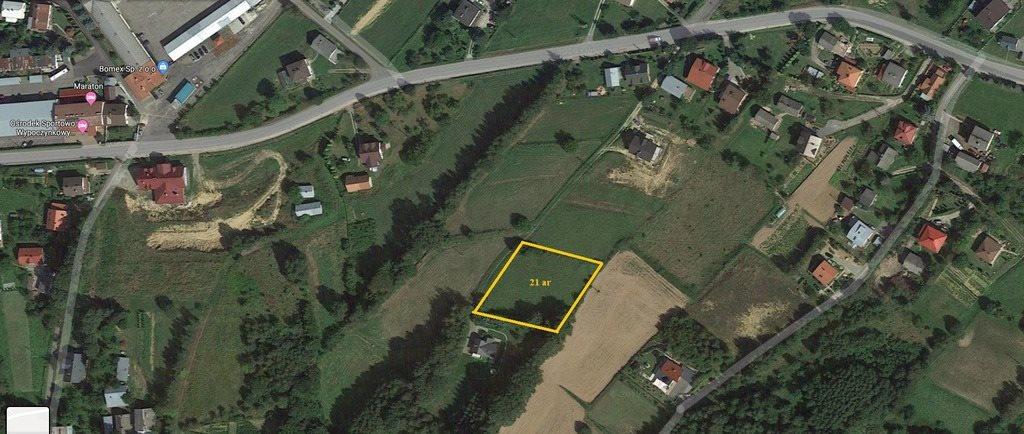 Działka rolna na sprzedaż Lubenia  2100m2 Foto 1