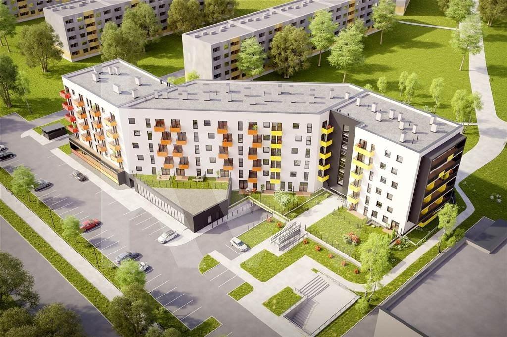 Mieszkanie trzypokojowe na sprzedaż Sosnowiec, Kielecka  52m2 Foto 1