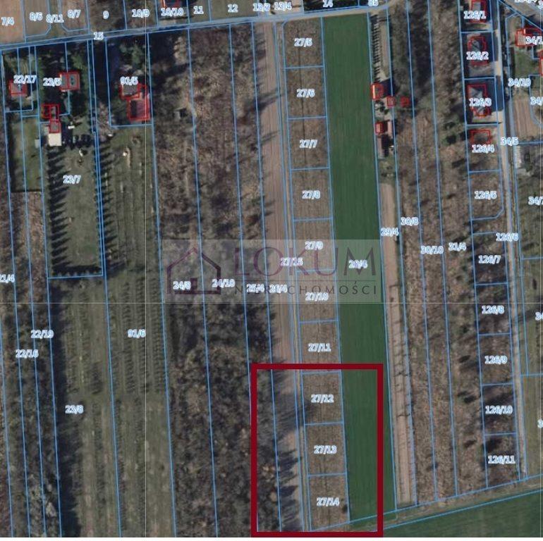 Działka budowlana na sprzedaż Radom, Jeżowa Wola  941m2 Foto 2