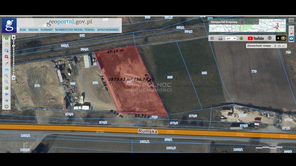 Działka budowlana na sprzedaż Dębogórze  3900m2 Foto 3