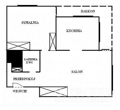 Mieszkanie dwupokojowe na wynajem Rzeszów, Pobitno, Lwowska  50m2 Foto 12