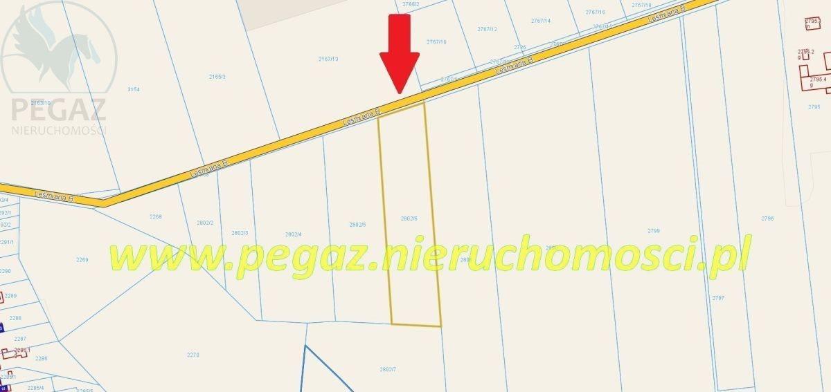 Działka budowlana na sprzedaż Mosina, Bolesława  Leśmiana  8202m2 Foto 1