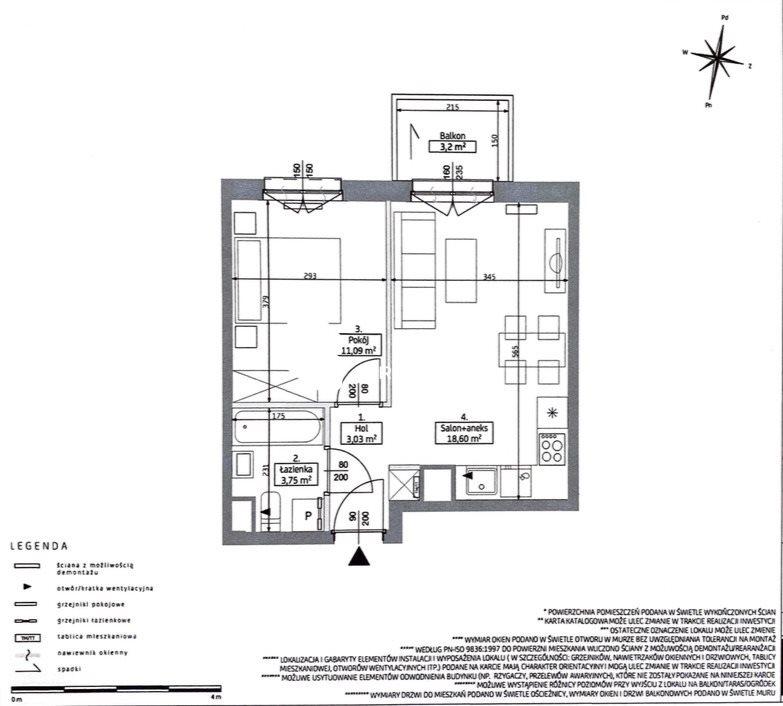 Mieszkanie dwupokojowe na sprzedaż Poznań, Junikowo, Junikowo, Jeleniogórska  37m2 Foto 1