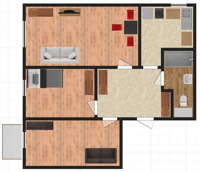 Mieszkanie trzypokojowe na wynajem Warszawa, Mokotów, Dolny Mokotów, Konduktorska 1A  43m2 Foto 14