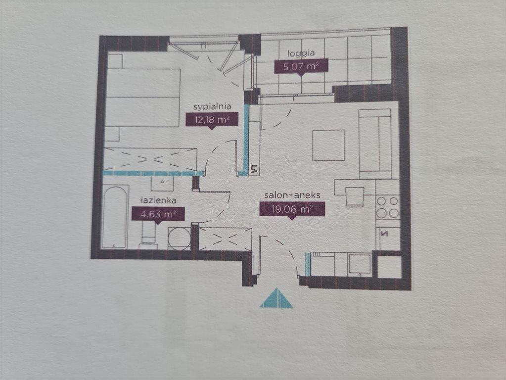Mieszkanie dwupokojowe na sprzedaż Warszawa, Mokotów, Służewiec, Taśmowa  36m2 Foto 7