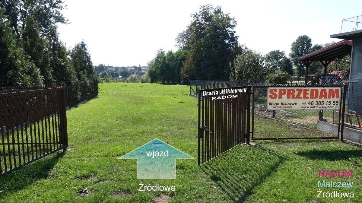 Działka budowlana na sprzedaż Radom, Malczew, Źródłowa  1278m2 Foto 5