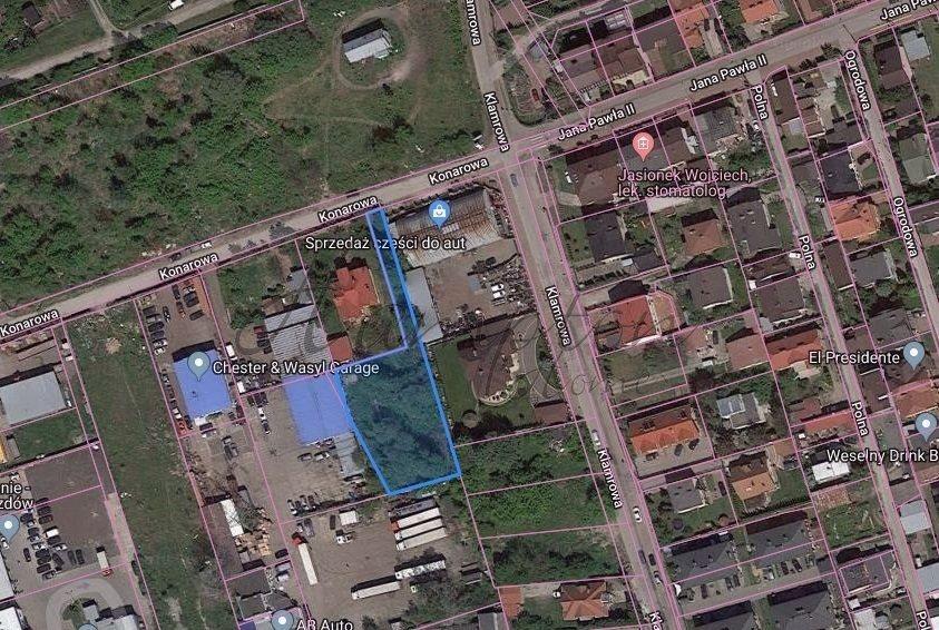 Działka budowlana na sprzedaż Warszawa, Targówek, Konarowa  1476m2 Foto 1