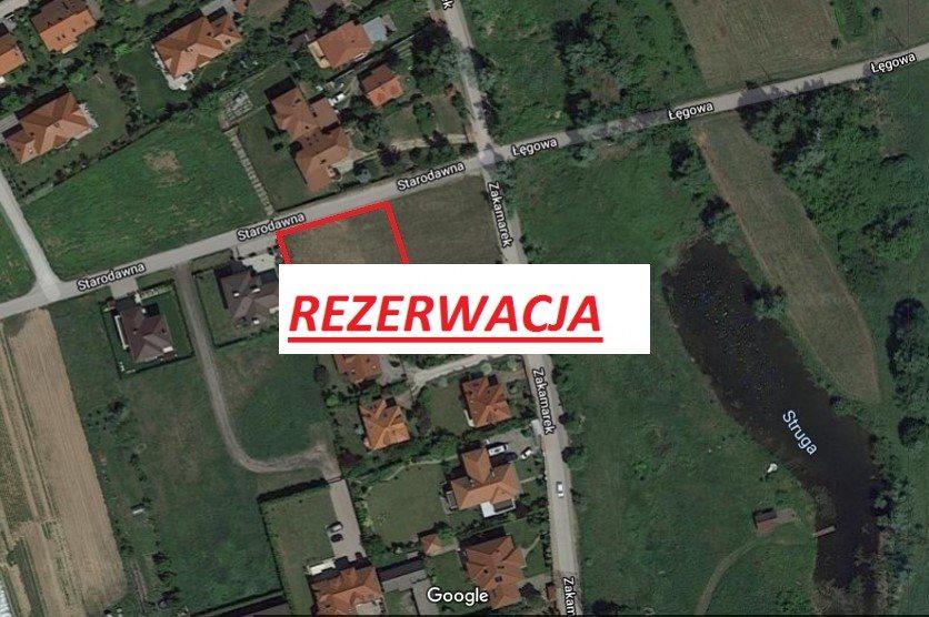 Działka budowlana na sprzedaż Warszawa, Wilanów, Starodawna  1024m2 Foto 7