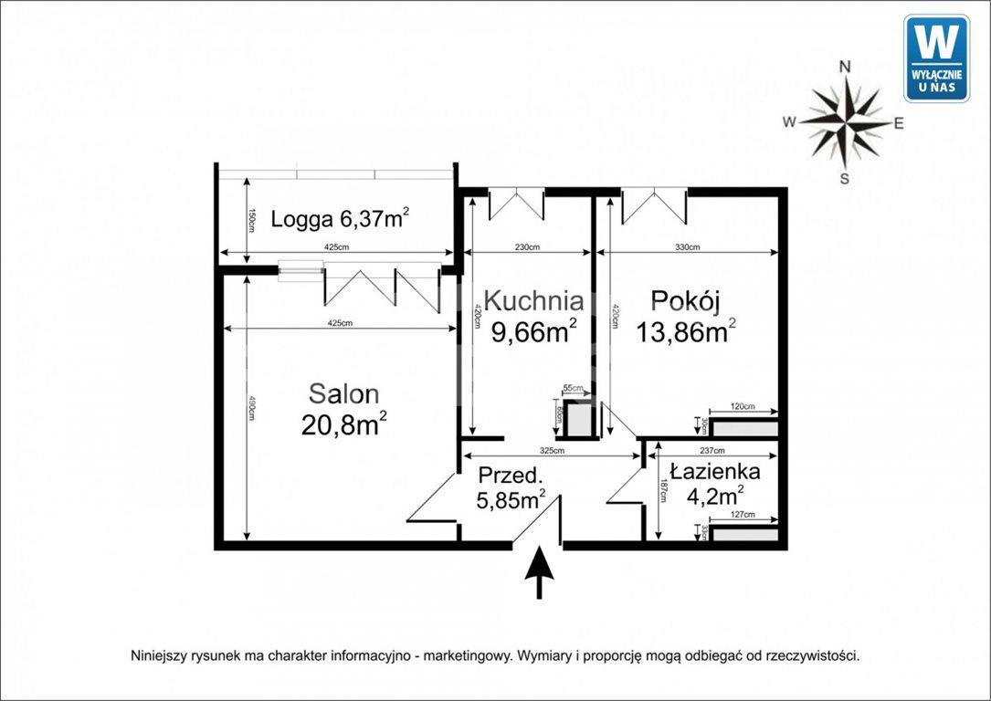 Mieszkanie dwupokojowe na sprzedaż Warszawa, Wola, Dzielna  54m2 Foto 2