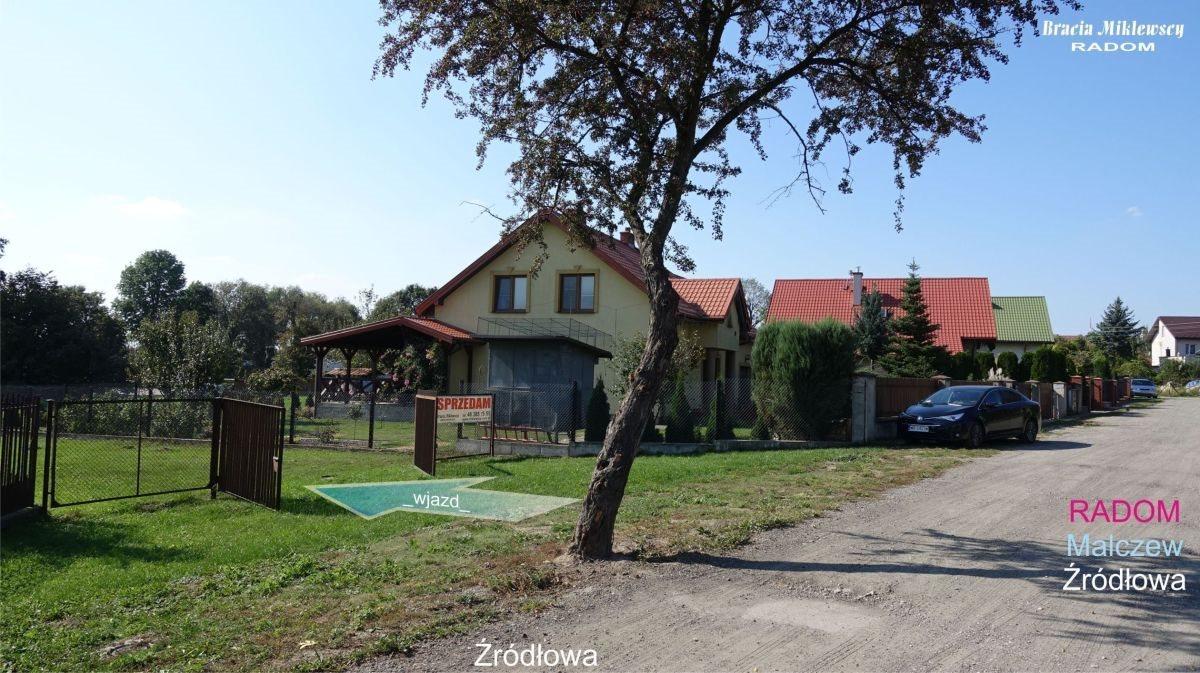 Działka budowlana na sprzedaż Radom, Malczew, Źródłowa  1278m2 Foto 1