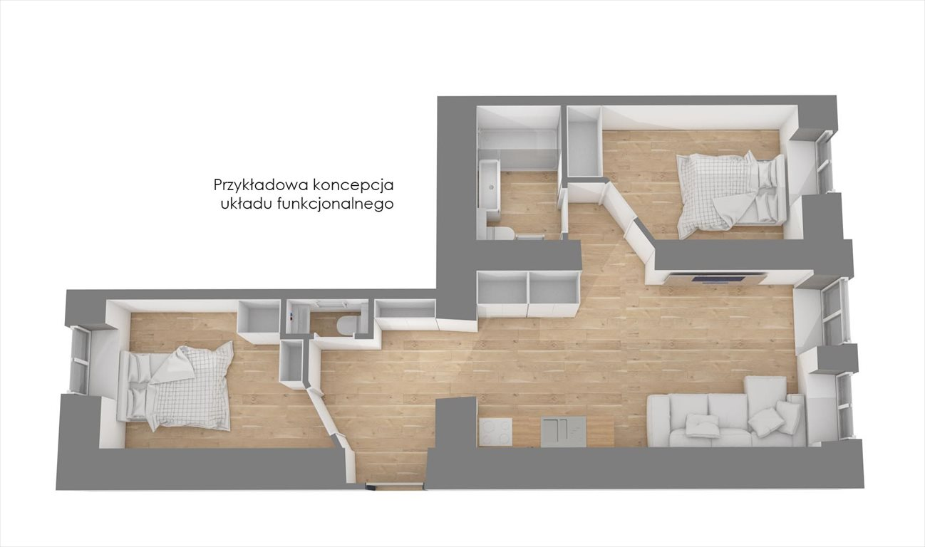 Mieszkanie trzypokojowe na sprzedaż Warszawa, Praga-Północ, Marcinkowskiego 7  46m2 Foto 15