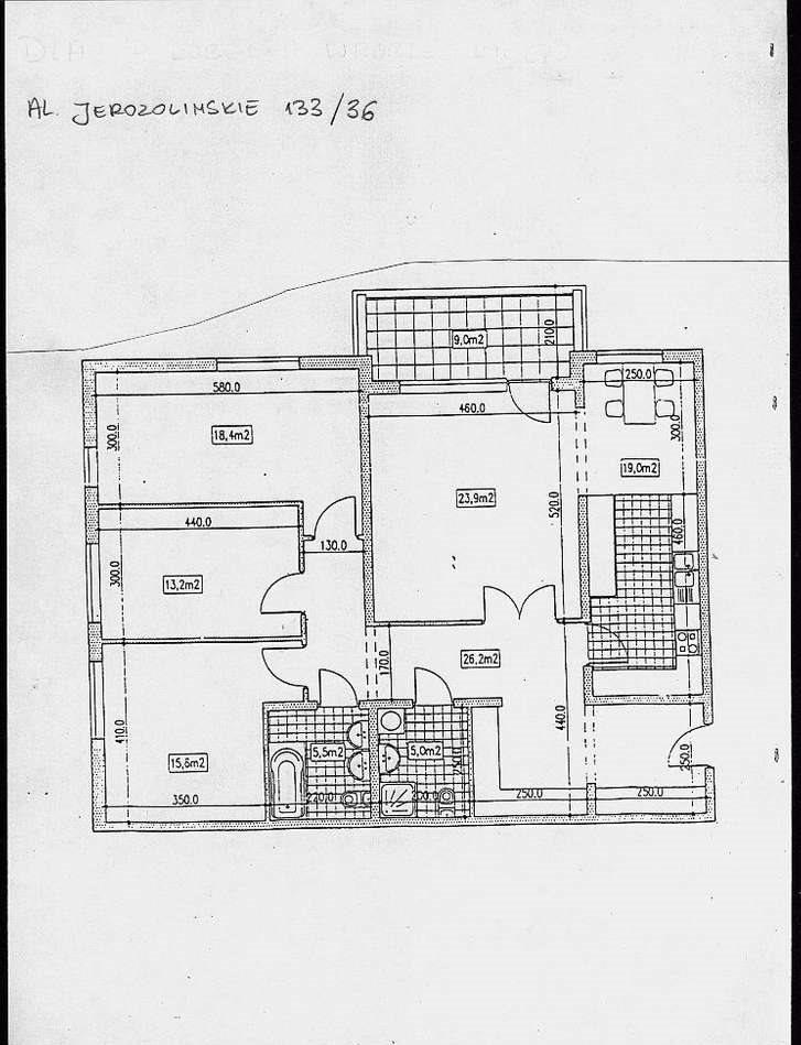 Mieszkanie na sprzedaż Warszawa, Ochota, Al. Jerozolimskie 133  127m2 Foto 7
