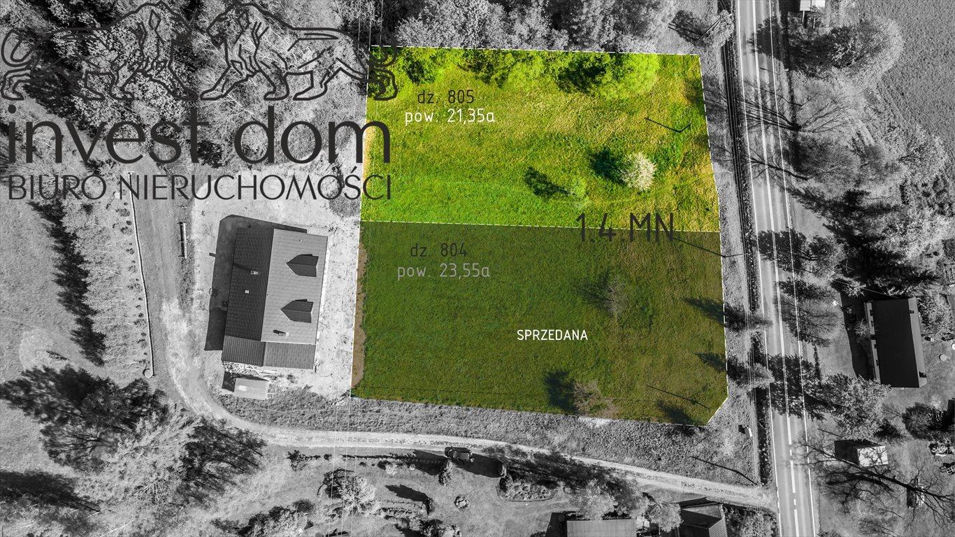 Działka budowlana na sprzedaż Małastów  2135m2 Foto 3