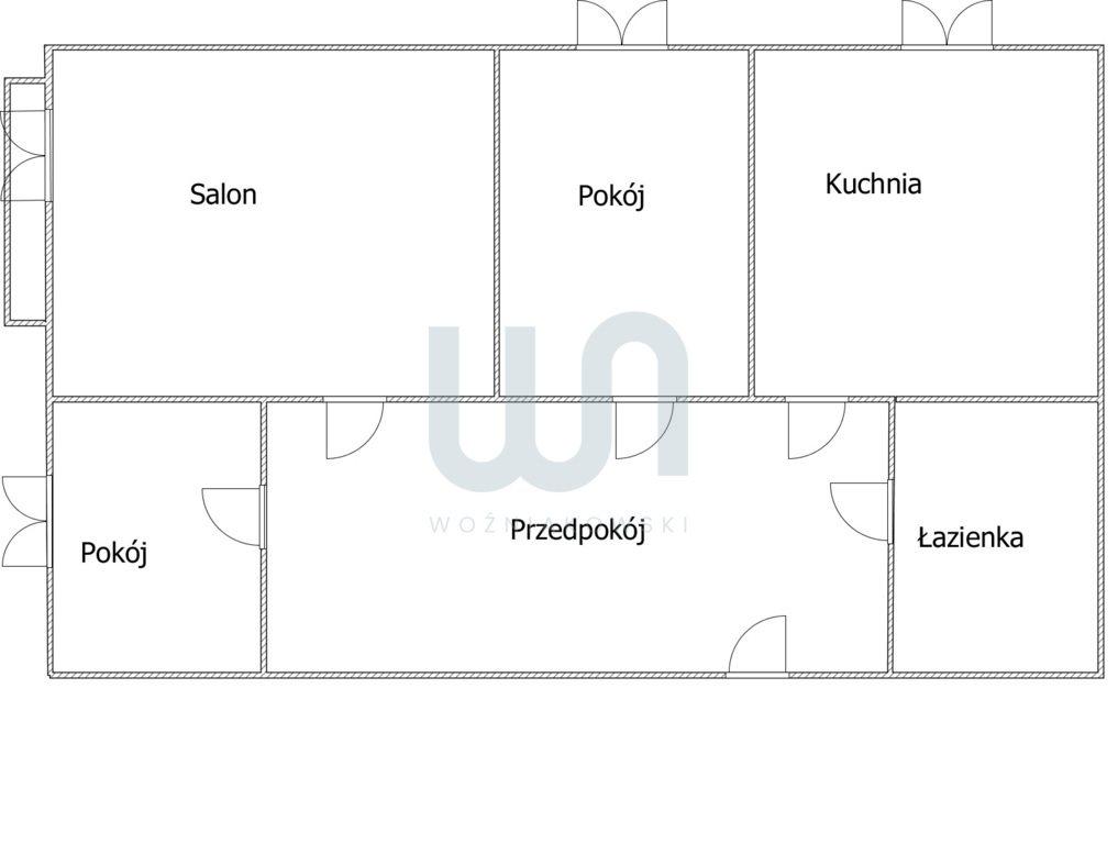 Mieszkanie trzypokojowe na sprzedaż Częstochowa, Błeszno, Bohaterów Katynia  54m2 Foto 9
