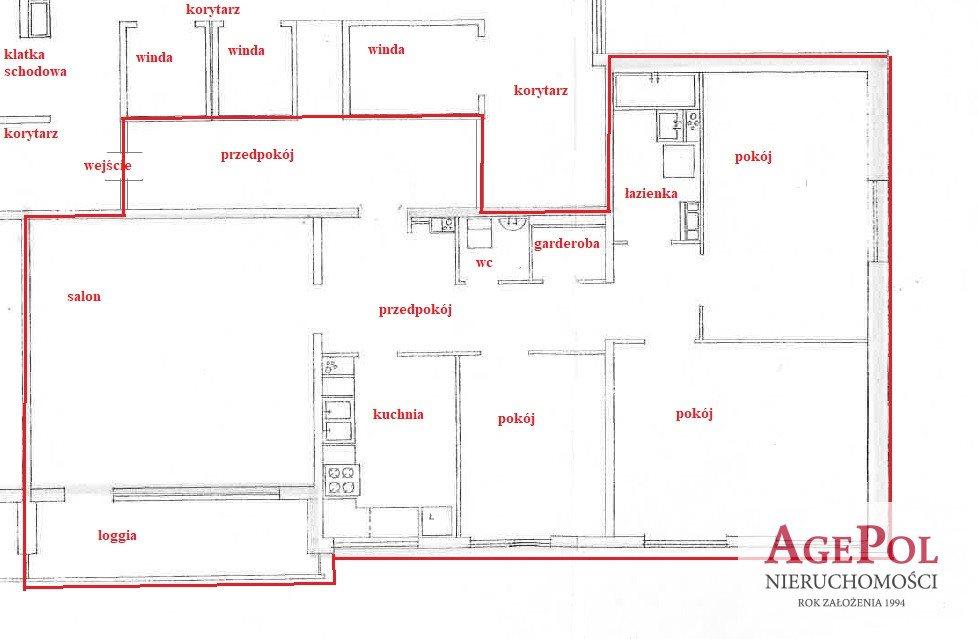 Mieszkanie czteropokojowe  na sprzedaż Warszawa, Mokotów  106m2 Foto 1
