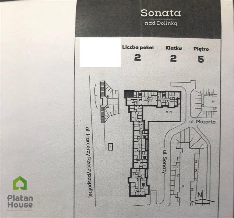 Mieszkanie dwupokojowe na sprzedaż Warszawa, Mokotów, Sonaty  44m2 Foto 4