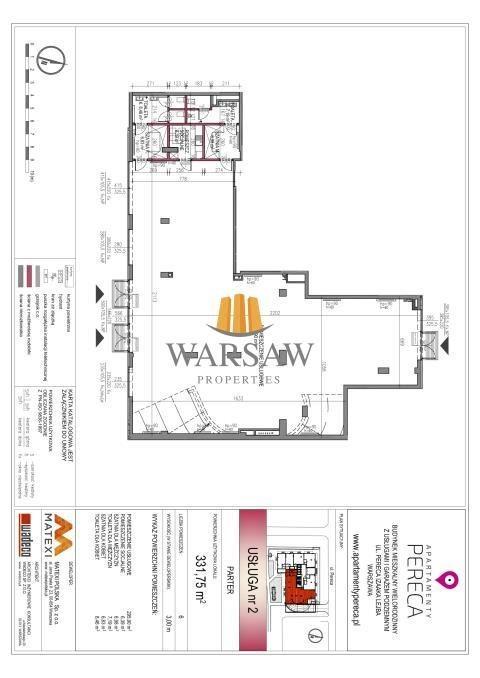 Lokal użytkowy na wynajem Warszawa, Wola, Pereca  332m2 Foto 1